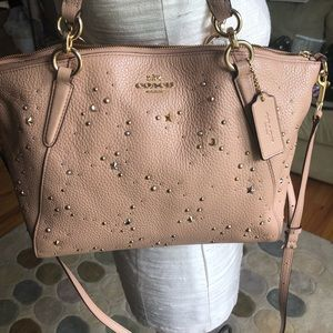 Coach Kelsey celestial studded bag